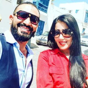 بالصور: رسالة من أحمد سعد لسمية الخشاب تجدد شائعات الزواج